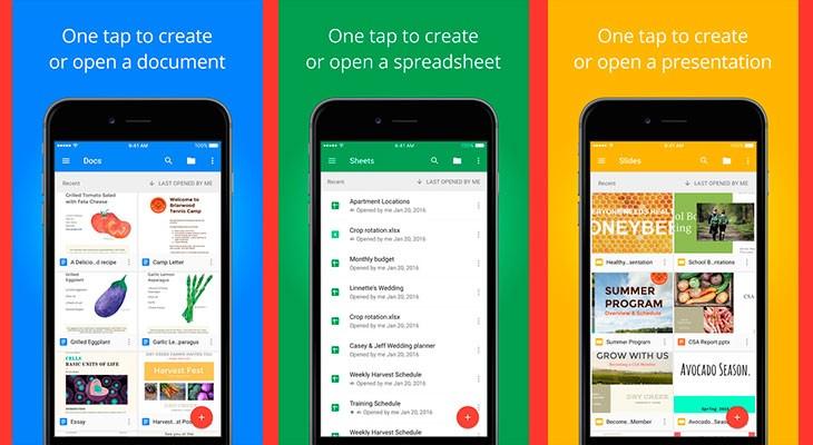 Documentos, Hojas de Cálculo y Presentaciones de Google ya soportan la multitarea del iPad