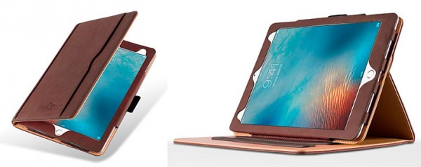Funda de cuero para iPad Pro 9.7 y 12.9 - JammyLizard