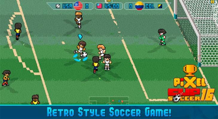 La aplicación gratis de la semana es Pixel Cup Soccer 16
