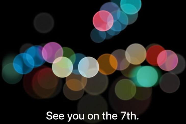 Ya es oficial, la Keynote del iPhone 7 será el 7 de Septiembre