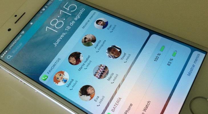 Como llamar a tus contactos favoritos sin desbloquear el iPhone [iOS 10]