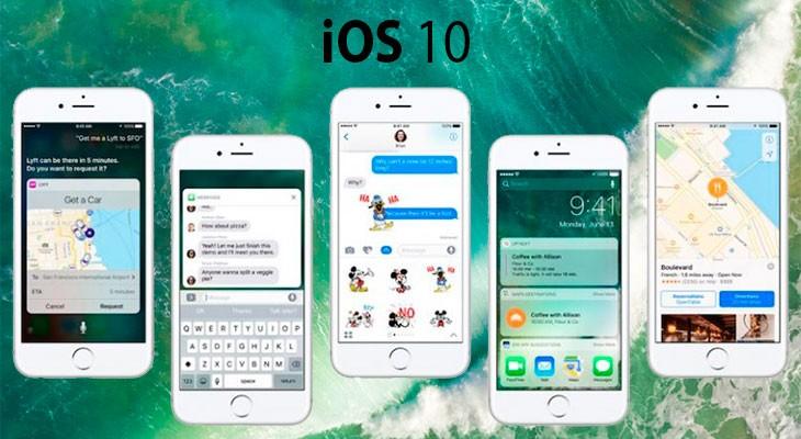 Apple lanza la beta 6 de iOS 10 para desarrolladores, y la beta pública 5