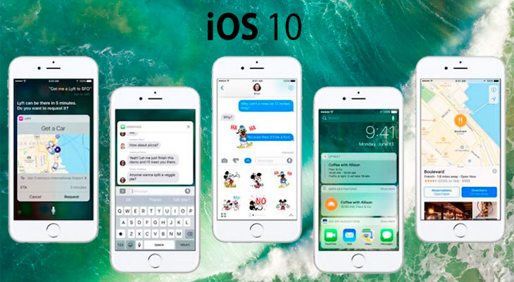 Apple lanza la beta 6 de iOS 10 para desarrolladores, y la beta pública 5