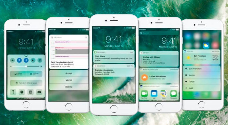 Apple lanza simultáneamente la beta 5 para desarrolladores y la beta pública 4 de iOS 10