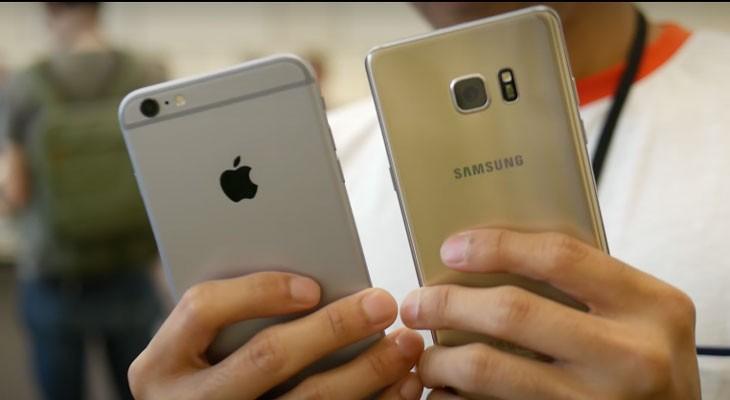 El iPhone 6s humilla al Galaxy Note 7 en un test de velocidad