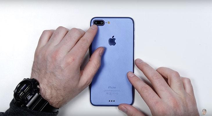 Un nuevo vídeo muestra un prototipo del iPhone 7 Plus en color azul