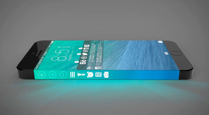 Apple obtiene una patente para una pantalla lateral parecida a la de Samsung