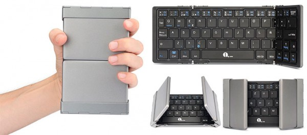 Teclado inalámbrico y plegable para Mac, PC, iOS y Android - 1byone