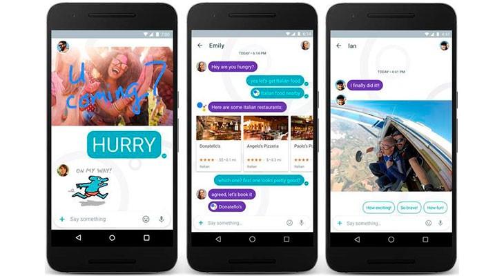 Google lanza Allo, su aplicación de mensajería con inteligencia artificial