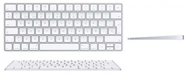 Teclado inalámbrico oficial de Apple para Mac - Magic Keyboard