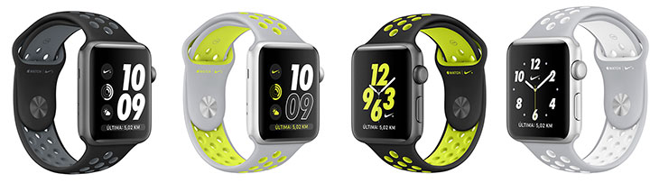 Apple Watch Nike+ Modelos