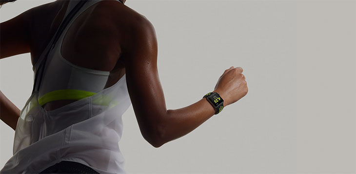 Apple Watch Nike+ para runners