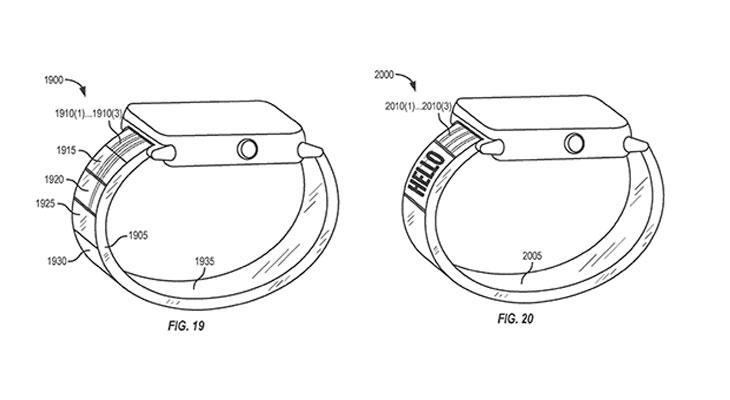 """Apple patenta un nuevo tipo de estructura flexible que utilizaría """"fluidos activos"""" para mostrar información"""