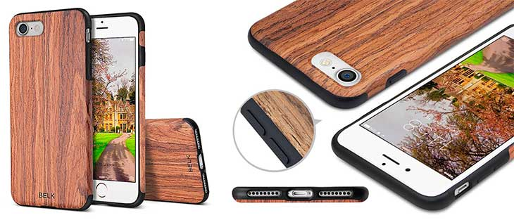 Funda de madera para iPhone 7 y 7 Plus - Belk