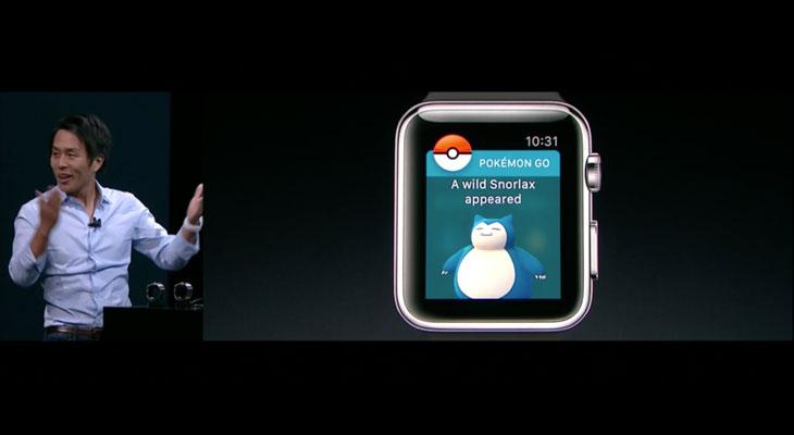 Pokémon Go se podrá jugar en el Apple Watch