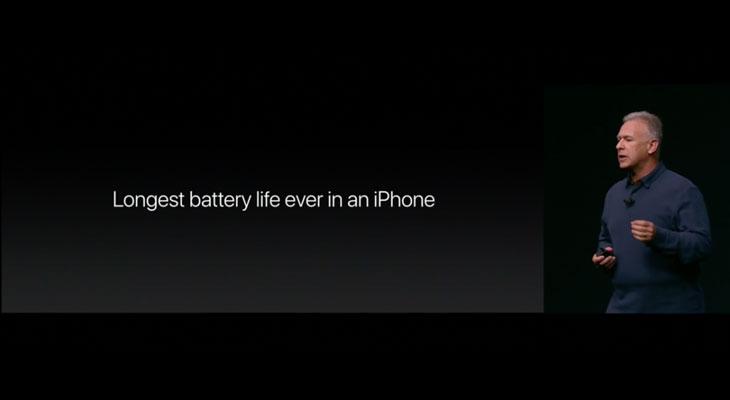 La batería del iPhone 7 durará más