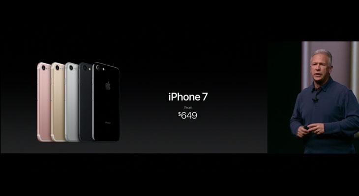 Estos son los precios del iPhone 7 y el iPhone 7 Plus