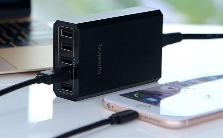 Cargador de 5 dispositivos 40W