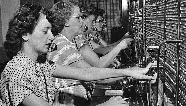 En su origen, el conector jack se utilizaba en las centralitas telefónicas