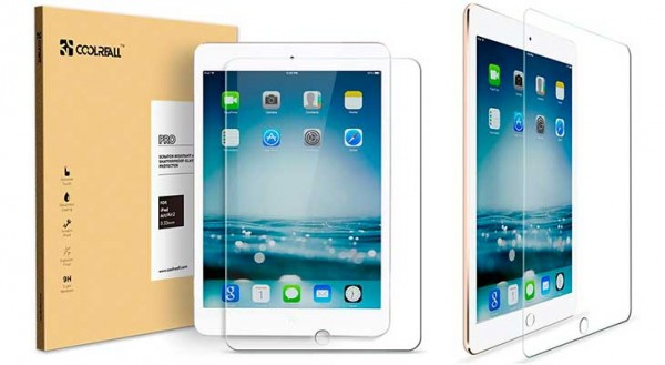 Protector de pantalla de cristal templado para iPad Air, mini y Pro - Coolreall
