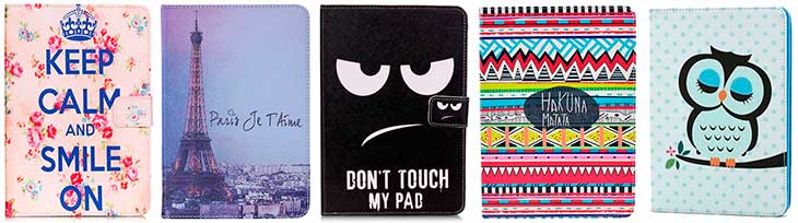 Funda divertida para iPad mini 1, 2, 3 y 4