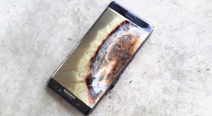 Un niño de seis años sufre quemaduras al explotarle un Galaxy Note 7 en las manos