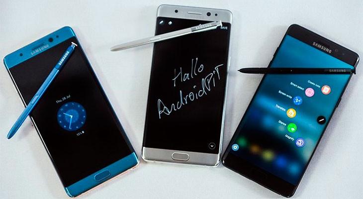 Samsung podría retirar del mercado el Galaxy Note 7