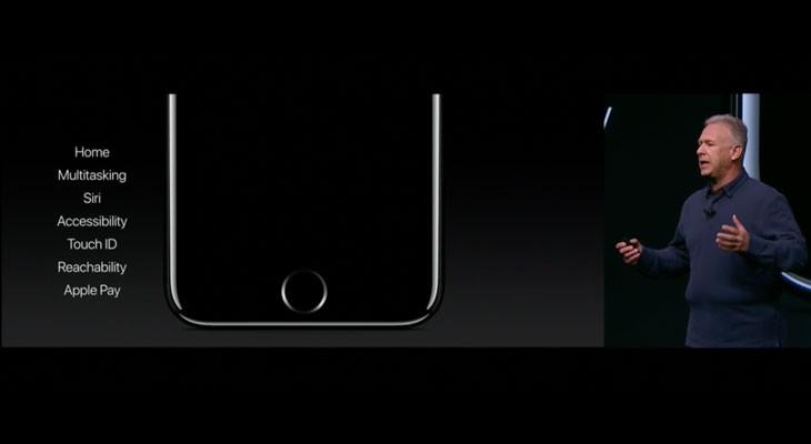 El botón Home del iPhone 7 es rediseñado y adquiere más funciones