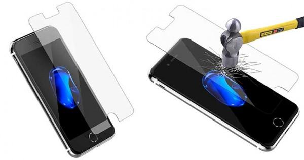 Protector de pantalla de vidrio templado para iPhone 7 y 7 Plus - JETech