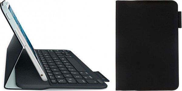 Funda con teclado para iPad mini 1, 2, y 3 - Logitech Ultrathin Keyboard Folio