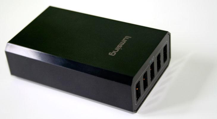 Cargador 5 dispositivos Lumsing