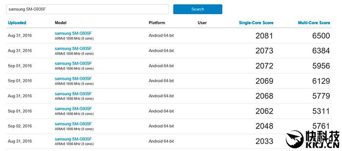 Galaxy Note 7, Procesador Exynos 8890