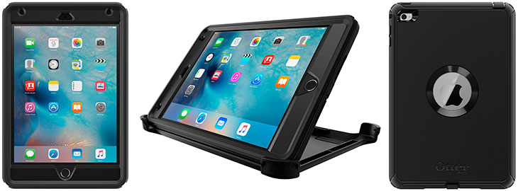 Funda ultrarresistente para iPad mini 1, 2, 3 y 4 - OtterBox Defender