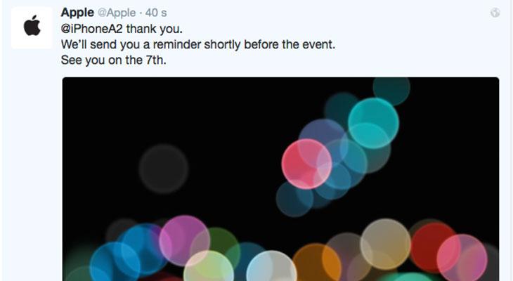 ¿Quieres que Apple te mencione en un Tweet? pues mira que fácil es conseguirlo…