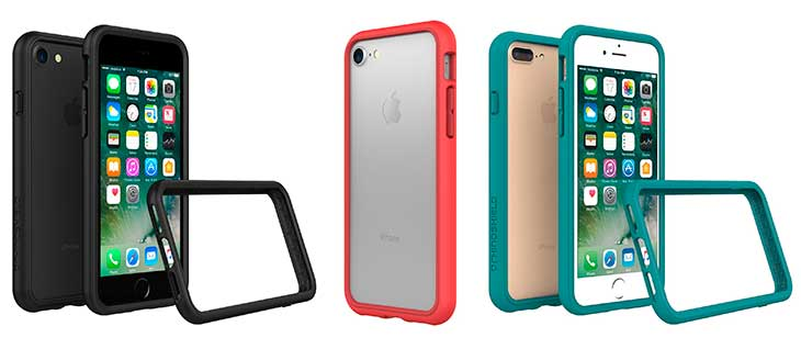 Bumper para los bordes del iPhone 7 y 7 Plus - RhinoShield CrashGuard