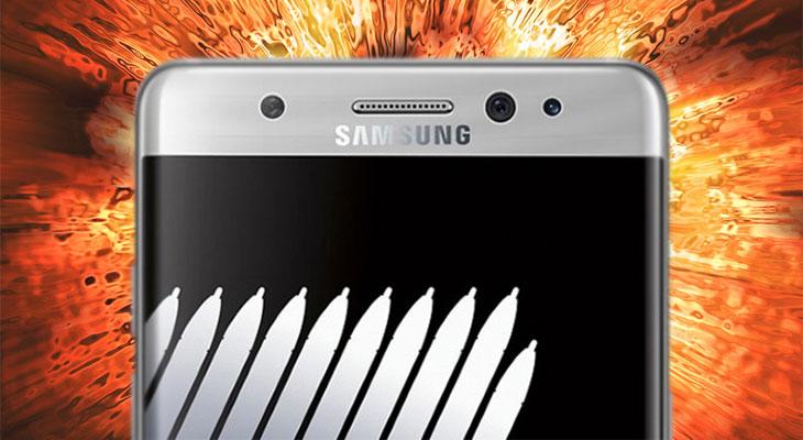 Samsung retrasa la distribución del Galaxy Note 7 tras varias explosiones