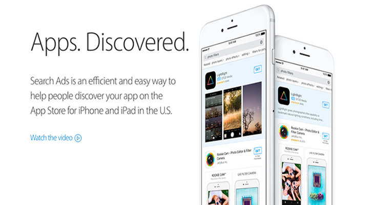 Los Search Ads llegan a la App Store