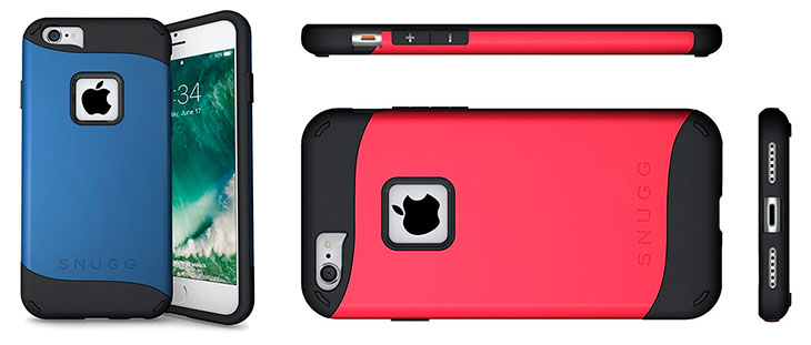Funda de doble capa para iPhone 7 y 7 Plus - Snugg