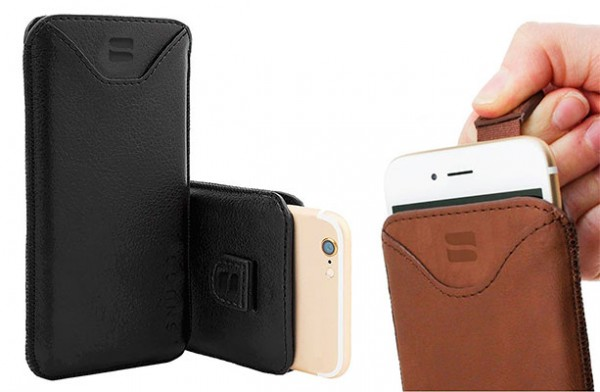 """Funda-estuche de tipo """"calcetín"""" para iPhone 7 y 7 Plus - Snugg Pouch"""