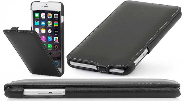 Funda de cuero para iPhone 7 y 7 Plus - StilGut UltraSlim
