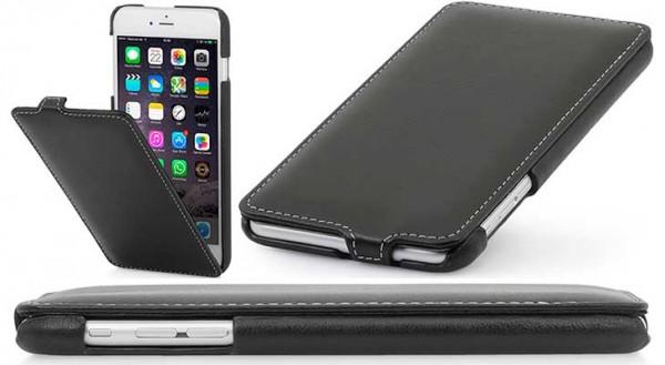 4079c1b8d5e Funda de cuero para iPhone 7 y 7 Plus - StilGut UltraSlim