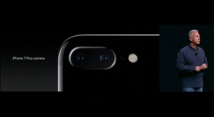 La doble cámara debuta con el iPhone 7 Plus