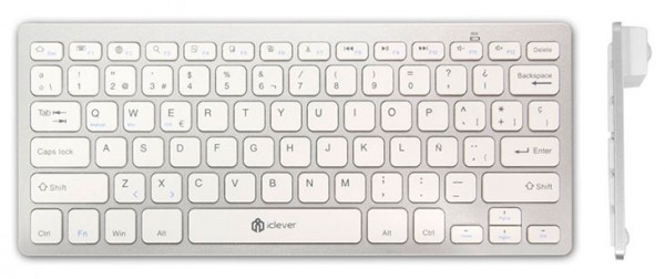 Teclado inalámbrico con Bluetooth para Mac, PC, iOS y Android - iClever
