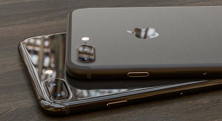 Este concepto imagina un iPhone 7 Plus en color Negro Oscuro y Negro Piano