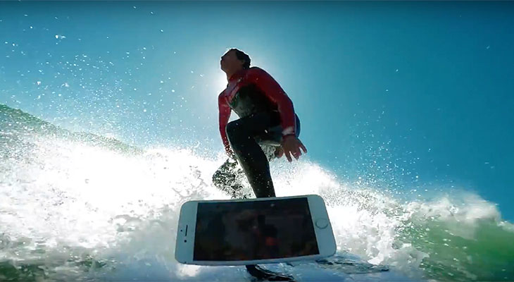 Un surfista profesional somete al iPhone 7 al test de resistencia al agua definitivo [Vídeo]