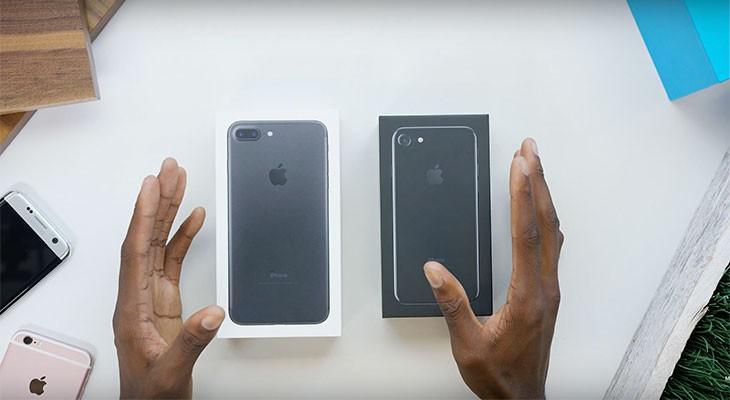 Llega el primer unboxing del iPhone 7 y el iPhone 7 Plus [Vídeo]