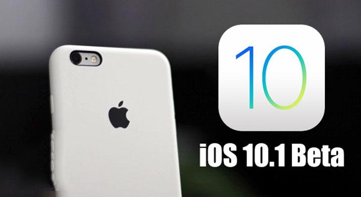 Apple lanza IOS 10.1 Beta 3 para desarrolladores