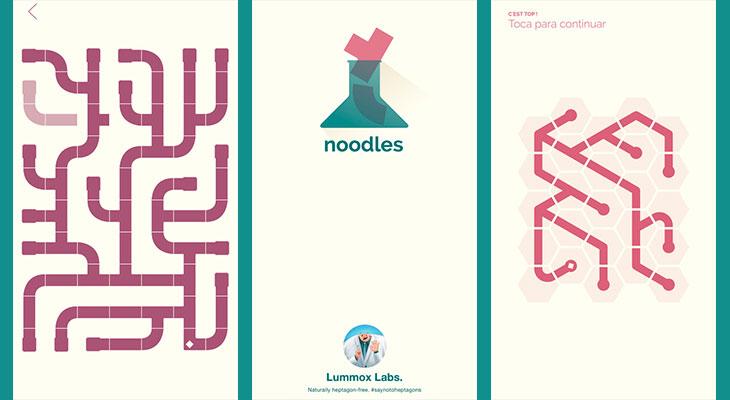 La aplicación gratis de la semana es Noodles!
