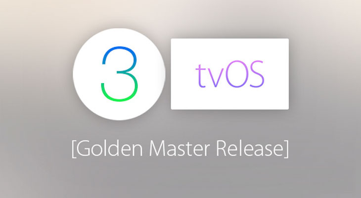 WatchOS 3 y tvOS 10 Golden Master disponibles para descargar