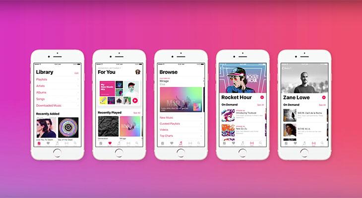 El nuevo anuncio de Apple Music nos muestra su nueva interfaz en iOS 10